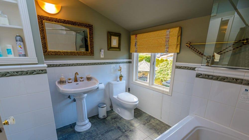 complete luxury bathroom